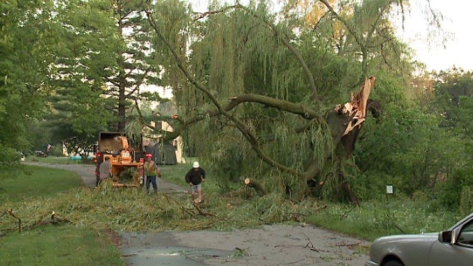 Walworth County storm damage