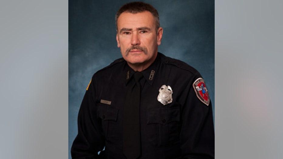 Oak Creek Police Officer Sam Lenda