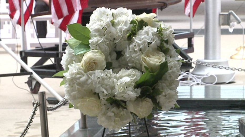 9/11 ceremony held at Milwaukee County War Memorial Center