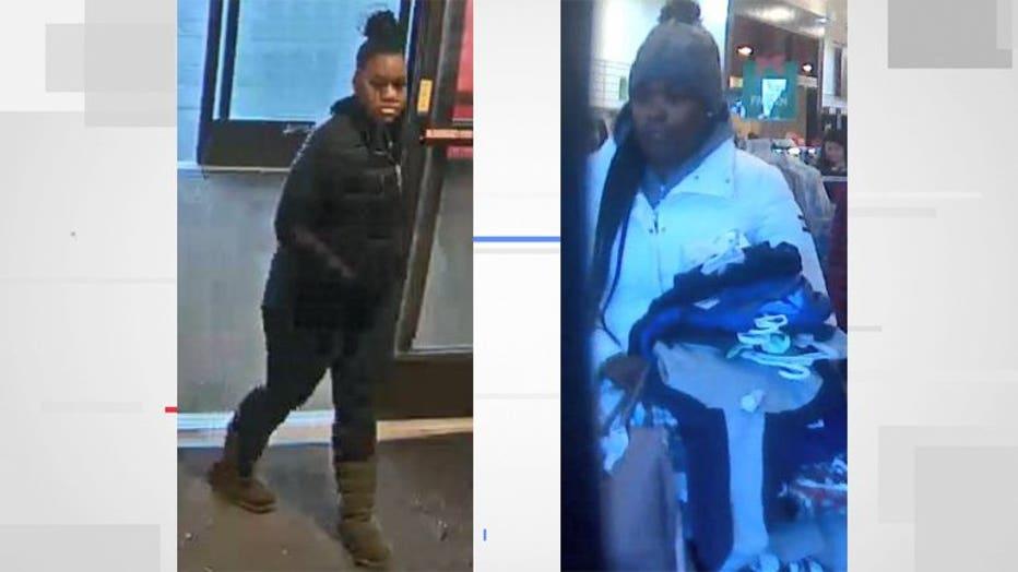Menomonee Falls TJ Maxx theft suspects