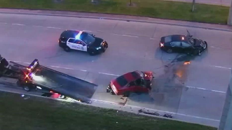 Milwaukee police pursuit ends in crash on McKinley Avenue near 6th Street