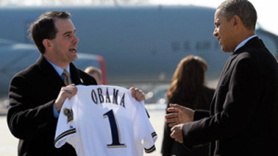 President Obama Scott Walker