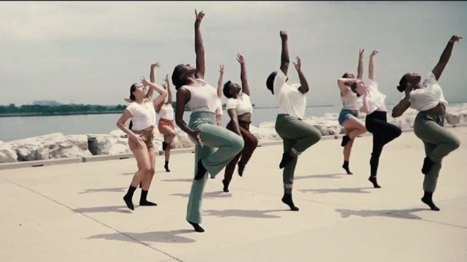 Milwaukee dancers come together to share emotions after George Floyd's death