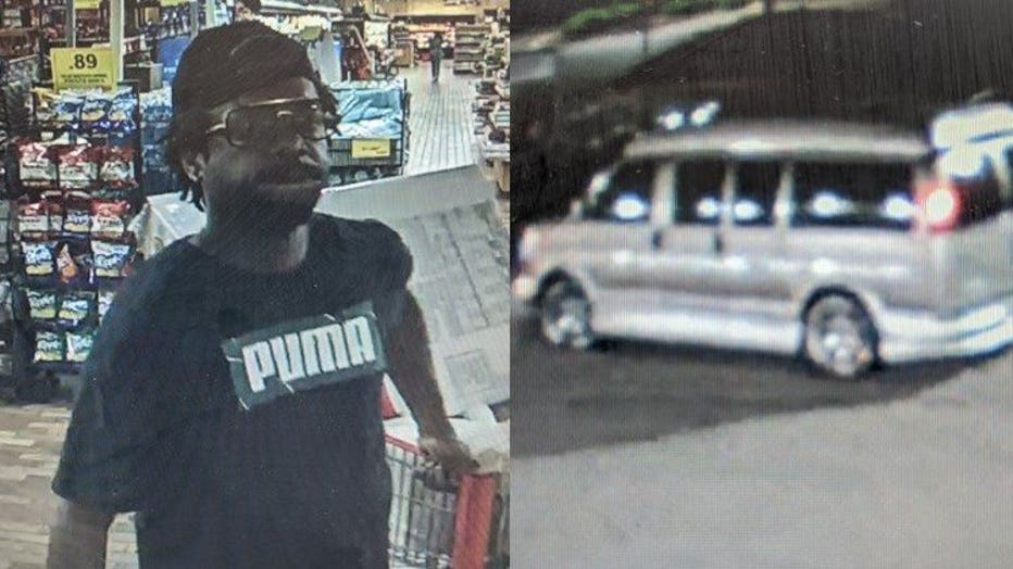 Police seek man who threw shopping cart at vehicle in Woodman's parking lot