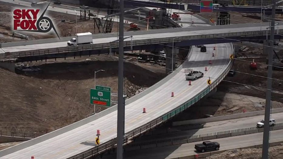 Ramp reopens from southbound US 45 to eastbound I-94