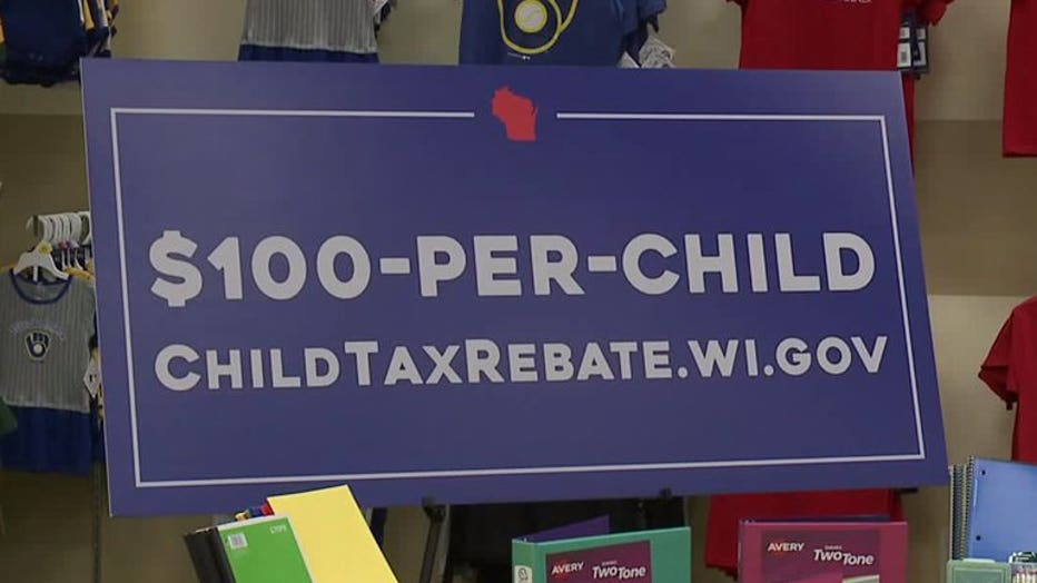 Child tax rebate