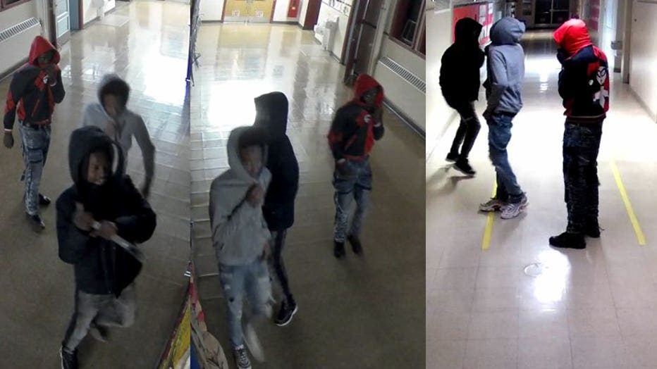 Suspects in Auer Avenue Elementary School