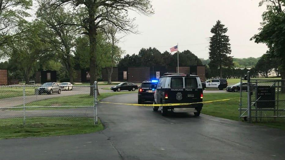 Shooting in Graceland Cemetery in Milwaukee