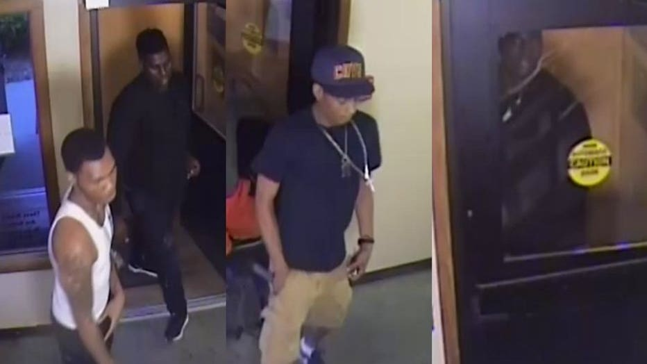 Suspects in home invasion near 10th and Atkinson