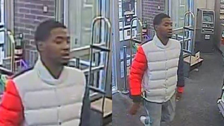 Walgreens theft suspect