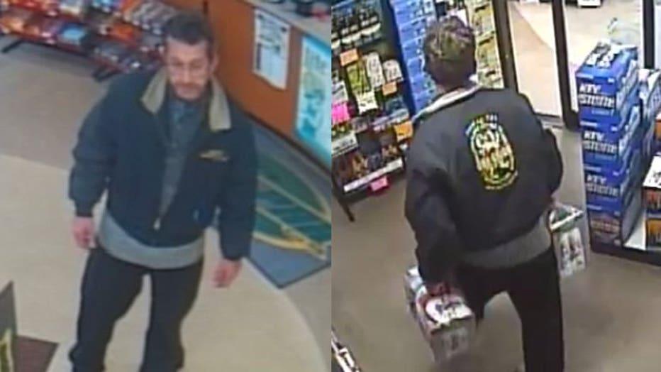 Tri-Par Qwik Stop theft suspect