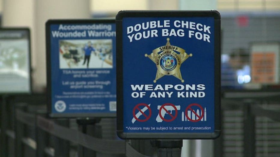 Number of guns being found by TSA on the rise across the country