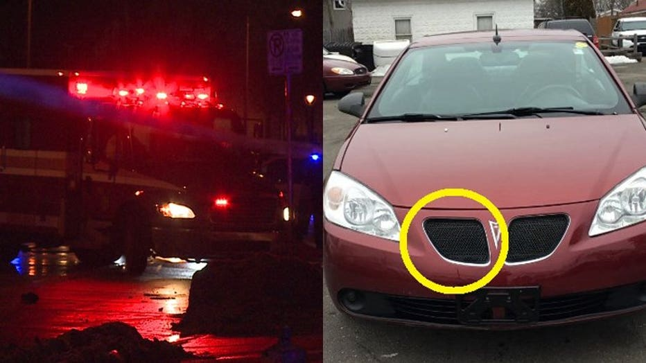 Hit-and-run near 35th and Wright