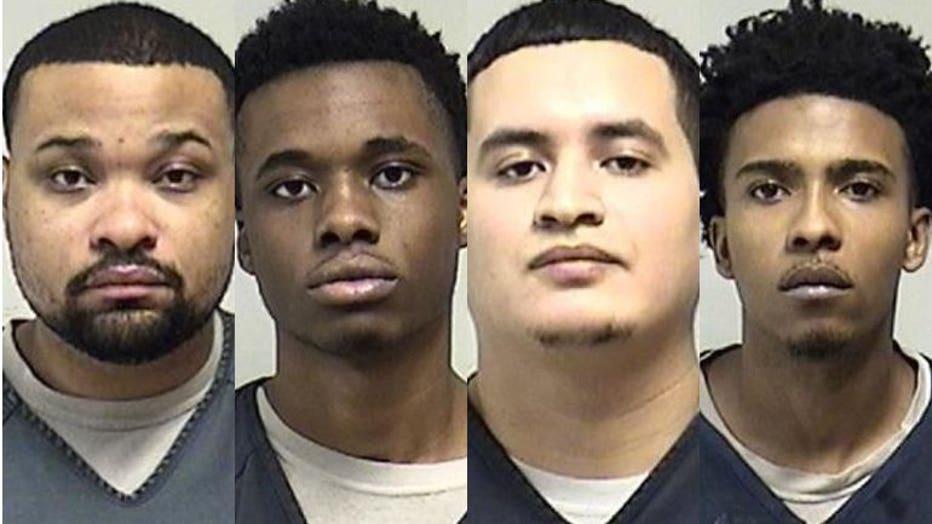 Anthony Harris, Demarco Hudson, Augustine Sanchez, Markeith Wilson