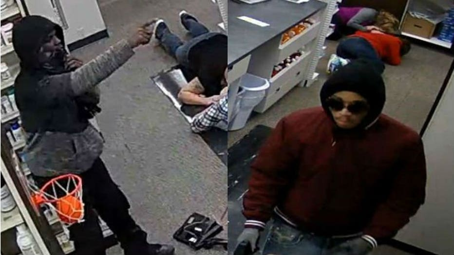 Armed and dangerous: Wauwatosa police seek 2 suspects accused of robbing Swan Pharmacy