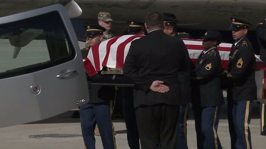 Remains of Corp. Donald Hendrickson returned to Wisconsin