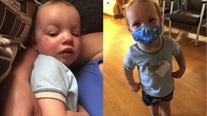 'It is real:' Sussex toddler recovers from COVID-19, diagnosed days before 2nd birthday