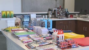 Milwaukee church hosts supply drive for neighboring elementary school