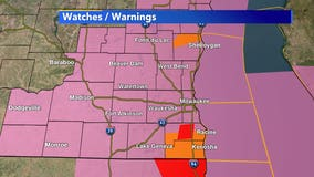 Severe T-storm warning for Kenosha, Racine counties until 5:30 p.m.