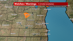 Severe T-storm warning for NW Dodge County allowed to expire