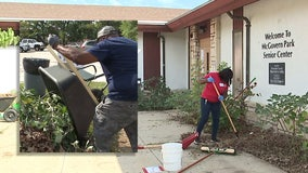 'This is like a diamond in the rough:' Community helps cleanup McGovern Park in Milwaukee