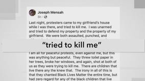 Wauwatosa Officer Mensah issues statement after police say protesters targeted his home
