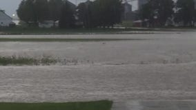 Sheboygan County hit with torrential rain, localized flooding