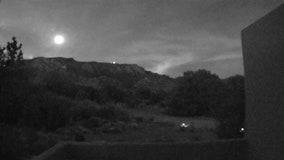 Home security camera captures 'bolide' meteor streak across Albuquerque night sky