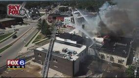 Kenosha fire damages historic building, displaces residents