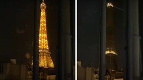 Eiffel Tower in Paris goes dark in show of solidarity with Beirut after massive explosion