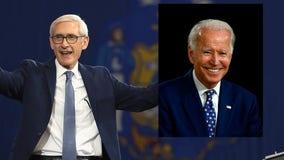 'Will unite our country:' Gov. Tony Evers endorses Joe Biden for president