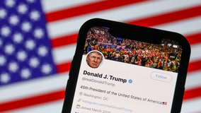 Twitter places notice on Trump mail drop box tweet for 'misleading health claims'