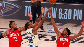 Milwaukee led by 1 in 4th quarter, but Rockets beat Bucks 120-116