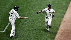 Tiebreaking 2-run homer from Jedd Gyorko helps Brewers beat Twins 6-4