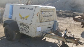 Persons in pickup truck steal towable generator from Washington County construction site