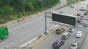 Sheriff: Driver severely injured in crash that closed I-94 EB at 25th Street Monday morning