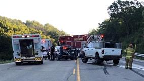 Wisconsin State Patrol inspector injured, cruiser struck in multi-vehicle crash