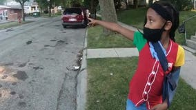 7-year-old Milwaukee girl 'very lucky' to be alive, struck by hit-and-run driver