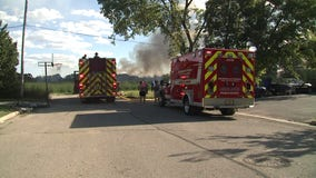 ATV fire spreads to marsh in Village of Germantown, no injuries reported