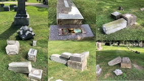 'It is terrible:' Vandals damaged several headstones at Racine's Mound Cemetery