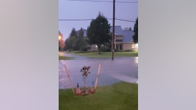 "Sheboygan County hit with torrential rains, reports over 5"" of rain, localized flooding"