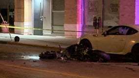 Motorcyclist dies after collision with oncoming vehicle on Milwaukee's east side