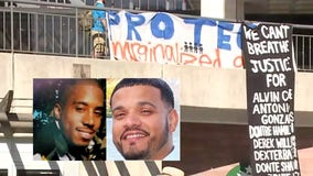 'Stop killing Black men:' Families of Dontre Hamilton, Joel Acevedo join protest on final night of DNC