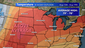 Summer heat returns this weekend, temps will likely be warmer than average in mid-August