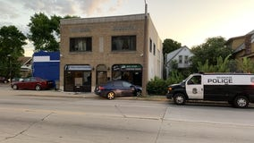 Car crashes into storefront near 44th and Lisbon in Milwaukee, woman arrested