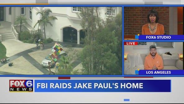 TMZ: The FBI raids Jake Paul's home, Kim and Kanye are working on their marriage