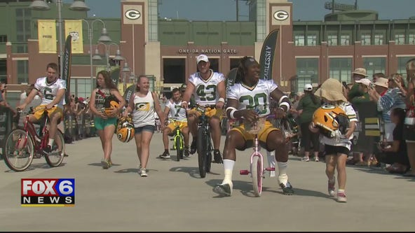 Fans can support Packers during Training Camp with Letters to Lambeau