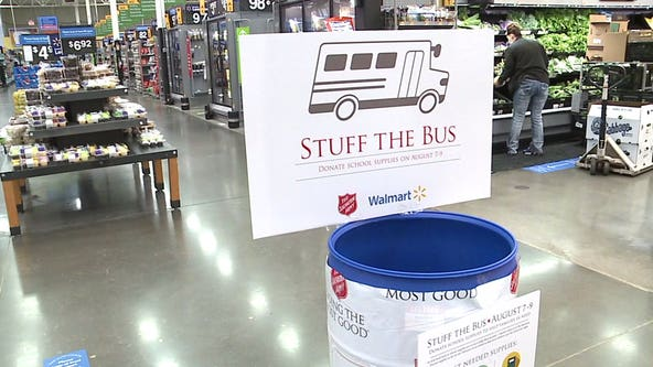 The Salvation Army joins forces with Walmart to 'Stuff the Bus' for kids in need