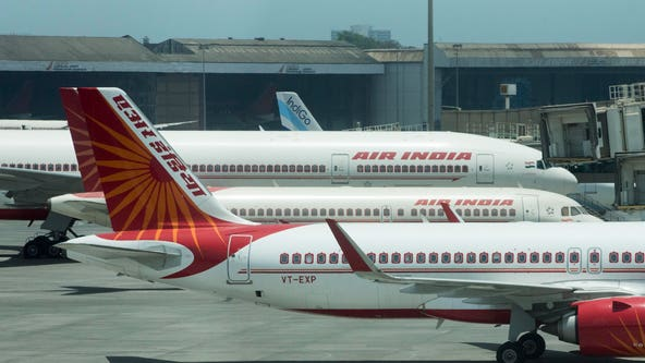Air India flight skids off runway, splits in 2 while landing in southern India, dozens reported hospitalized