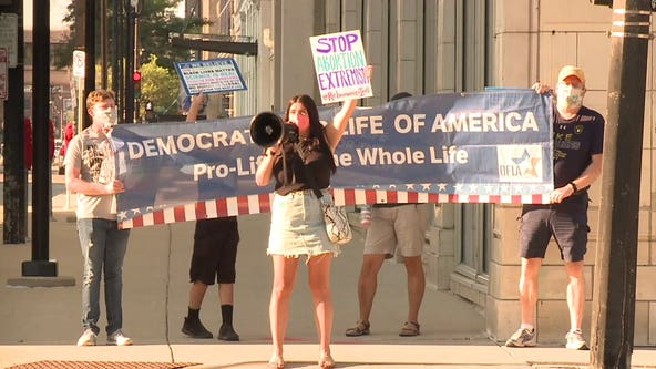 'People are still paying attention:' Despite mostly-virtual format, protesters descend on Milwaukee for DNC